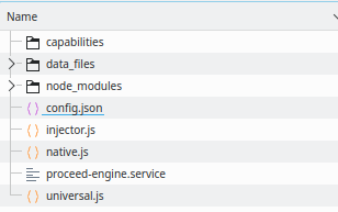 Config file in Engine folder